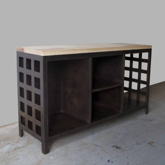 fire-storage-with-metal-shelves